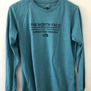 North face long sleeve tee